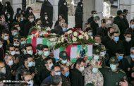 وداع مردم با شهید امنیت در شهرهای تبریز و کلیبر