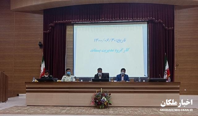 انتقاد فرماندار از شهرداری ملکان بخاطر تاخیر در اخذ مجوزهای لازم و انتقال بموقع بازار هفتگی دواب!