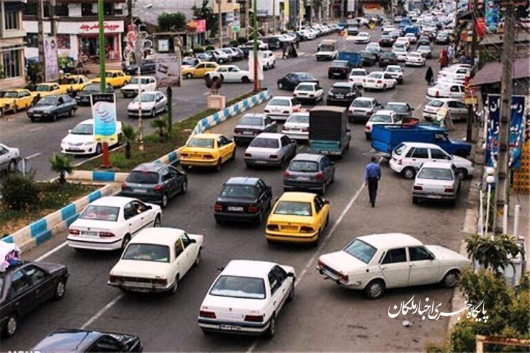 ترافیک شهر بناب به یک معضل تبدیل شده است!
