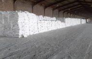 توزیع ۲۵ تن کود شیمیایی سولفات پتاسیم در شهرستان ملکان